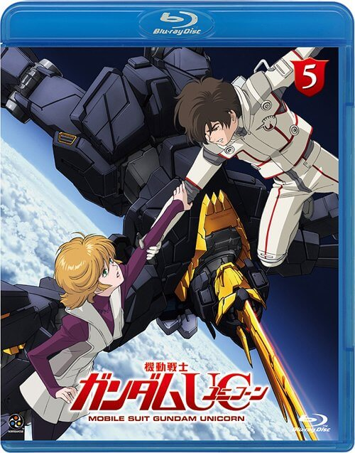 DVDs Blu-rays Anime Junho 2012 - Mobile Suit Gundam Unicorn Vol 5