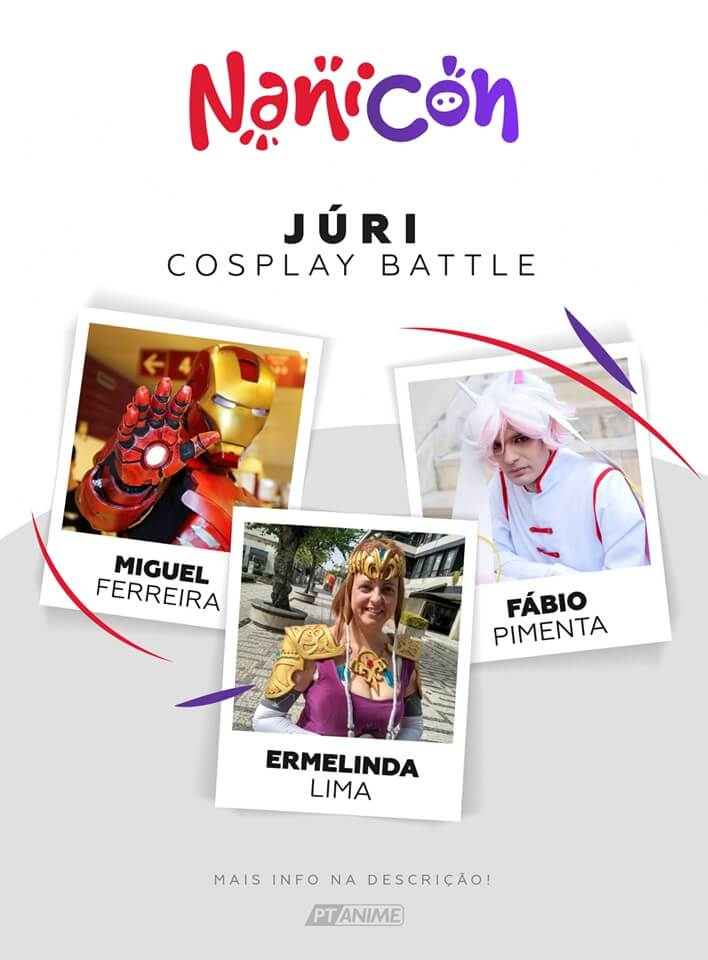 NaniCon - Um evento com selo ptAnime - Cosplay Battle