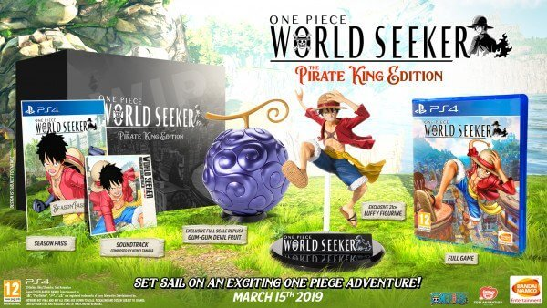 One Piece World Seeker - Revela vídeo de Abertura