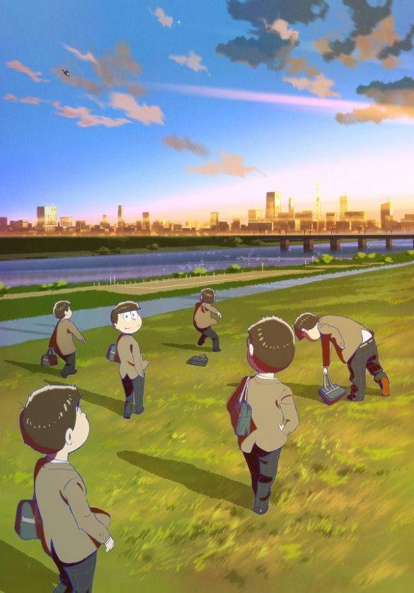 Osomatsu-san – Filme Anime revela Estreia em Trailer