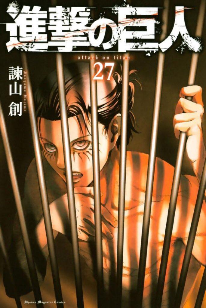 Capa Manga Shingeki no Kyojin Volume 27 revelada