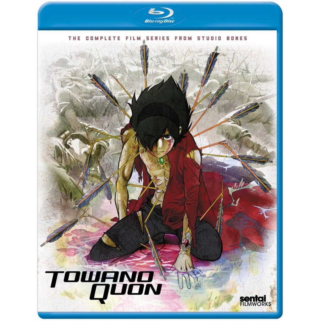 DVDs Blu-rays Anime Junho 2012 - Towanoquon The Complete Film Series