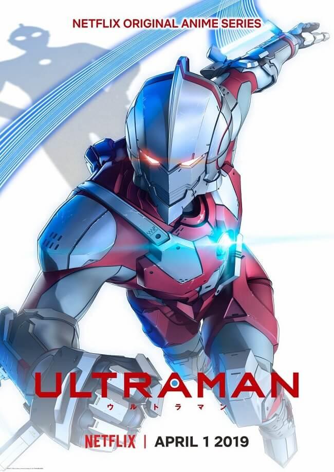 Ultraman Manga - Adaptação Anime revela Trailer e Estreia