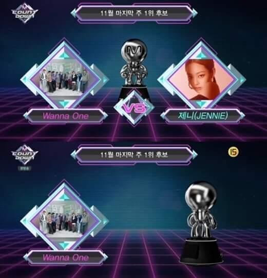 """Wanna One conseguem 3ª Vitória com a Música """"Spring Breeze"""" no M Countdown"""