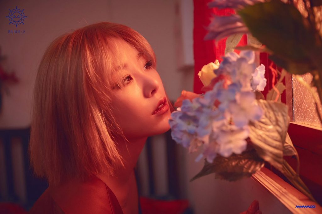 """Wheein das MAMAMOO é a membro em destaque para o Comeback """"BLUE;S"""""""