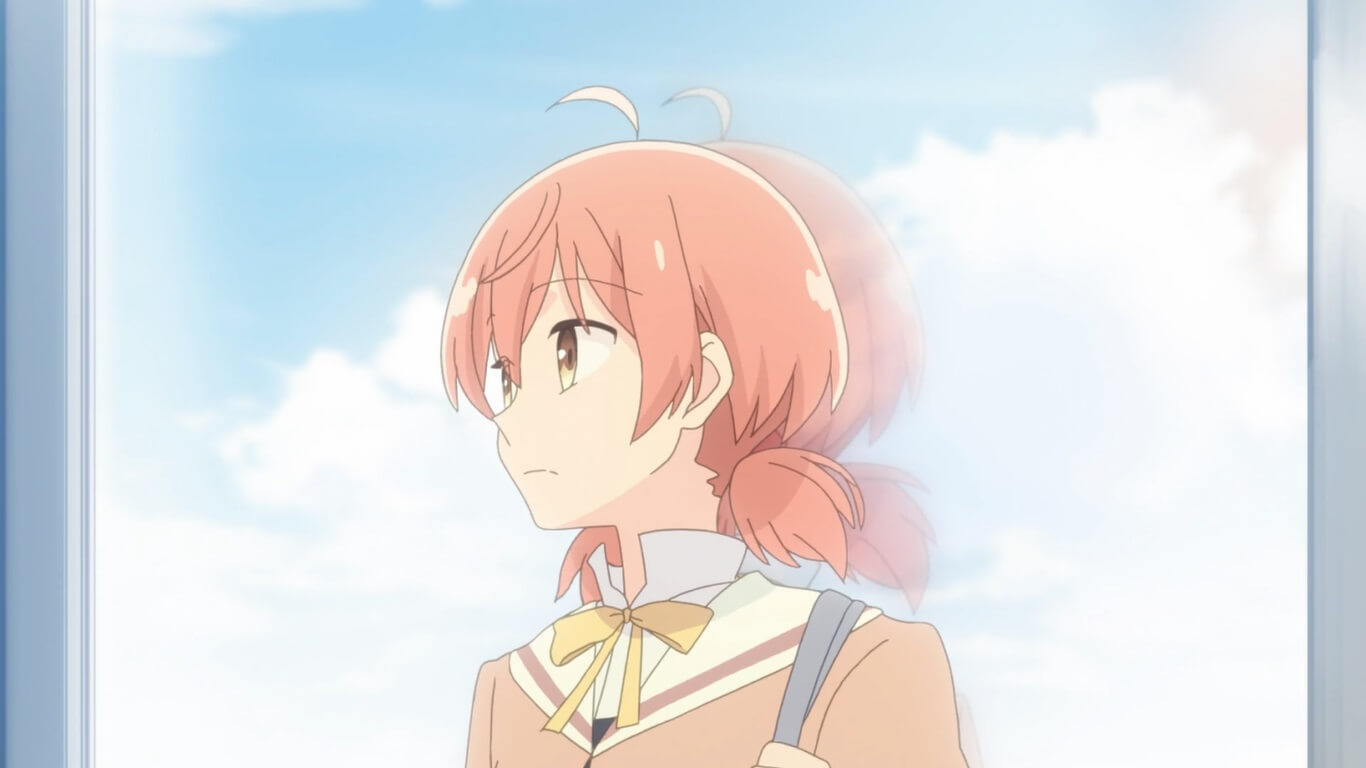 Bloom Into You - Episódio 5 Opinião yuu pensativa