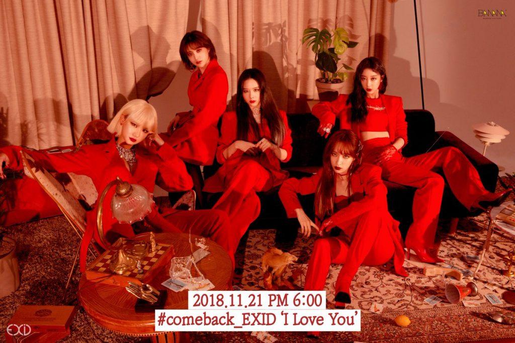 EXID lançam Novos Teasers para Comeback com 5 membros