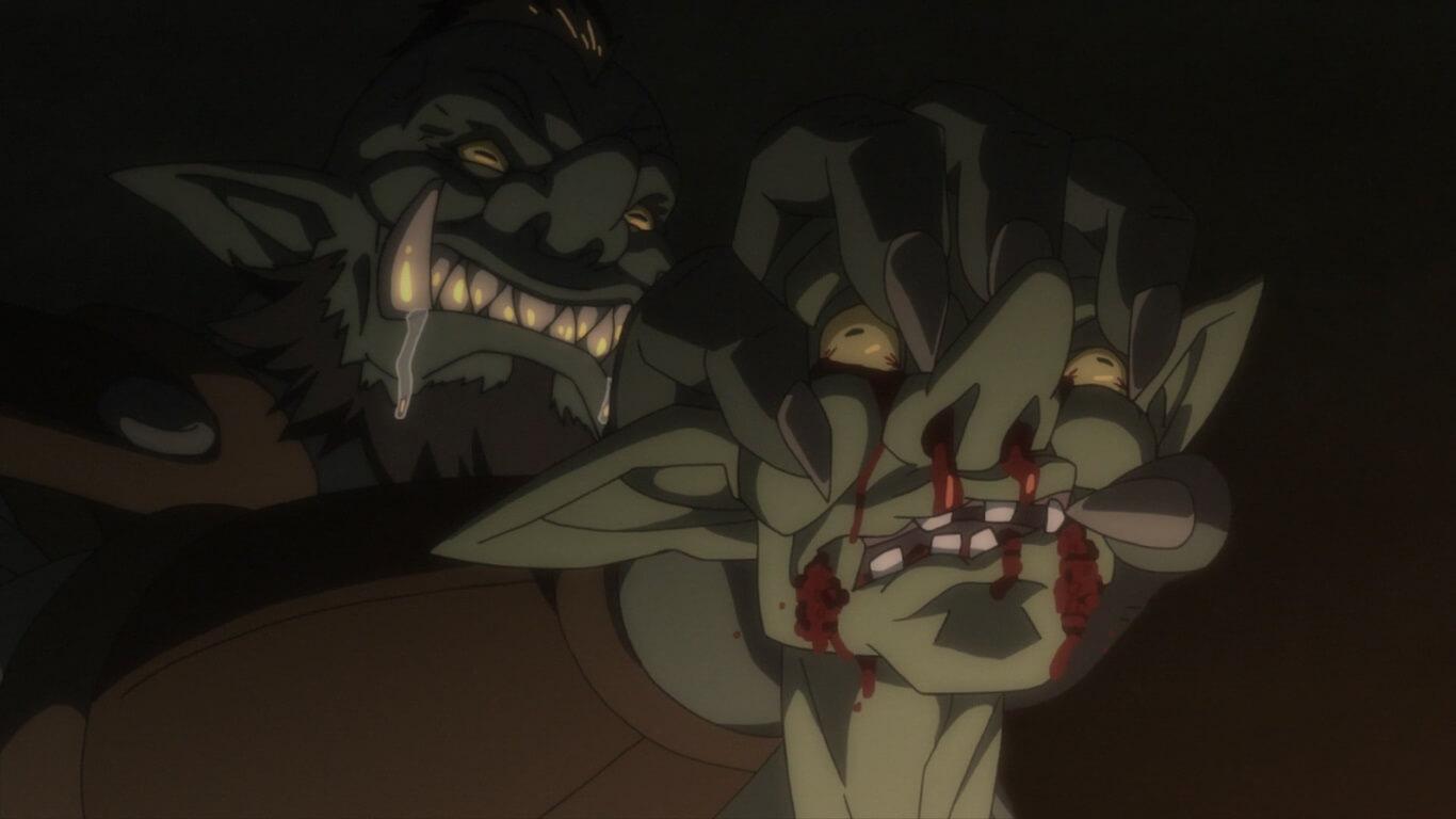 Goblin Slayer - Episódio 7 Opinião ambiente sombrio