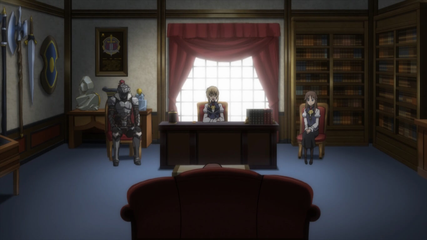 Goblin Slayer - Episódio 5 Opinião exame de promoção