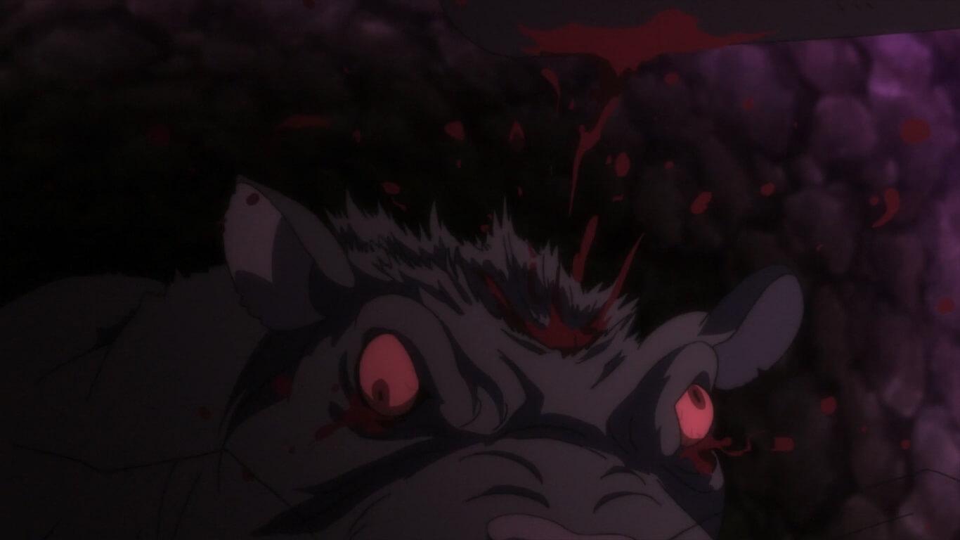 Goblin Slayer - Episódio 5 Opinião rato gigante