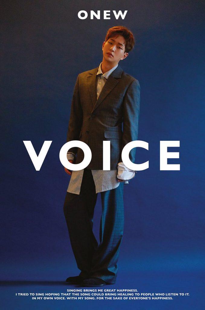 Onew dos SHINee revela Data e mais Detalhes para 1º Mini Álbum a Solo