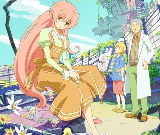 Lista Animes Verão 2012 - Jinrui wa Suitai Shimashita
