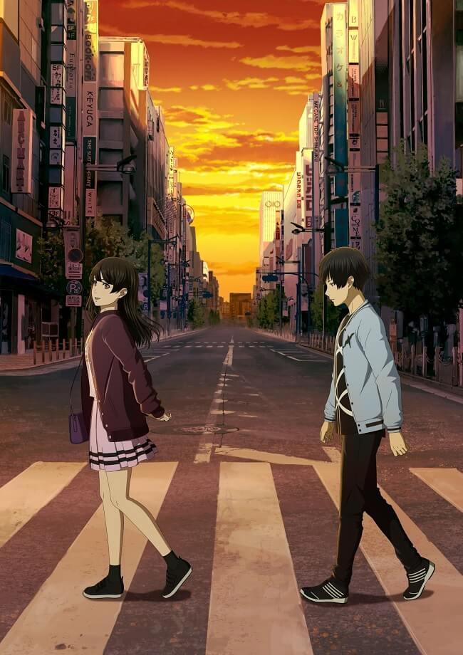 Ashita Sekai ga Owaru Toshitemo - Filme Anime revela Trailer