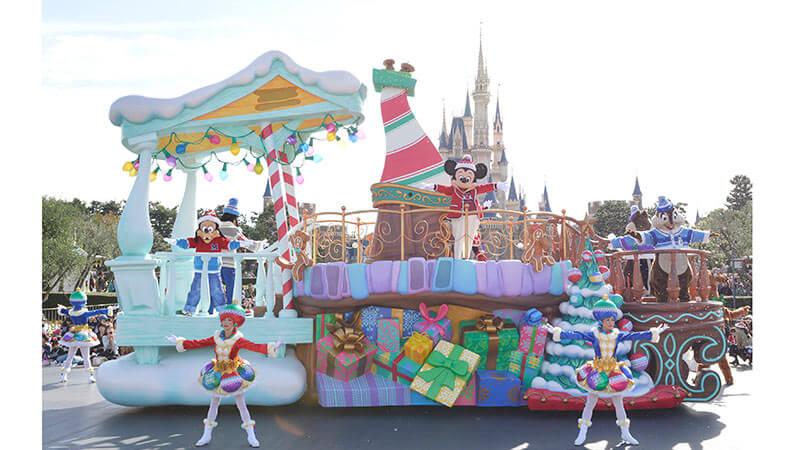 Como é vivido o Natal no Japão tokyo disneyland 1