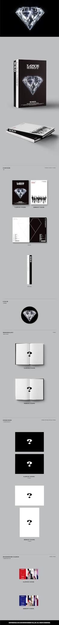 EXO revelam detalhes e Preview do conteúdo físico dos Álbuns Repackaged