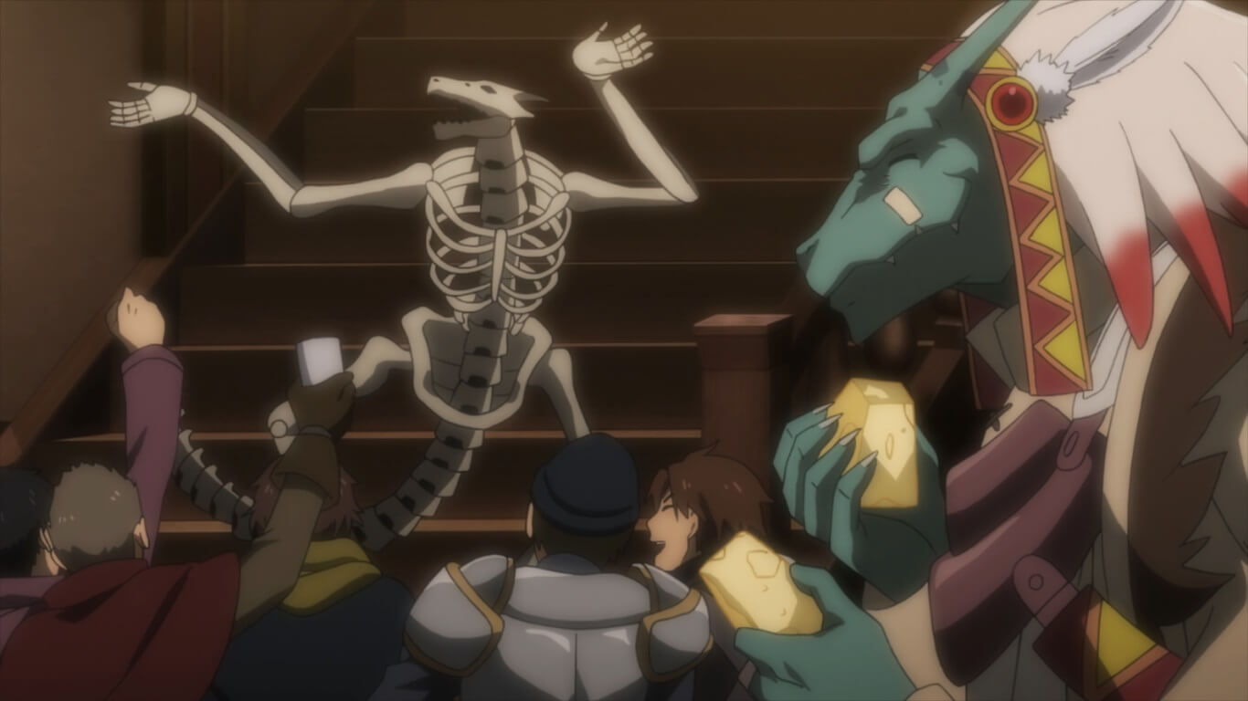 Goblin Slayer - Episódio 12 Opinião lizardmen pet dancing