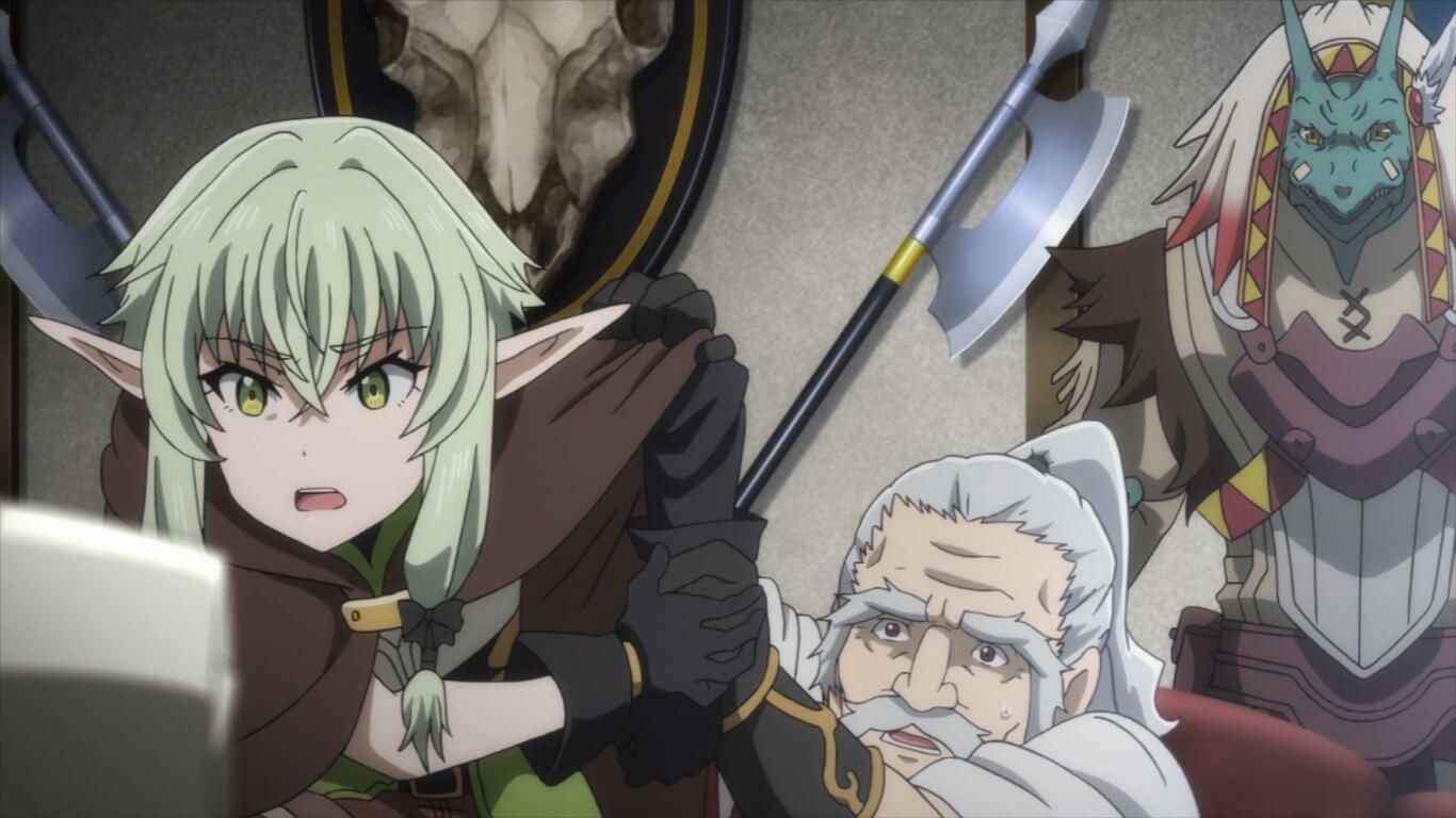 Goblin Slayer - Episódio 10.5 Opinião elfo irritada