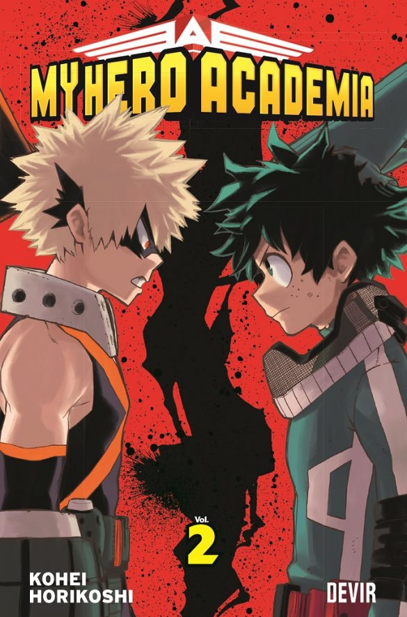 Boku no Hero Academia - Volume 2 pela DEVIR