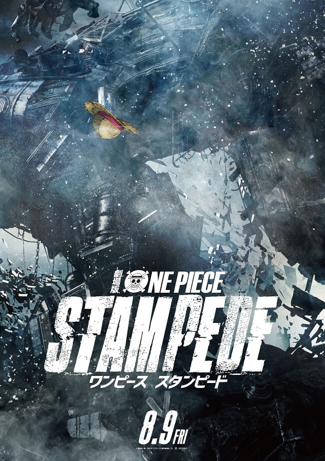 One Piece Stampede - Novo Filme estreia em Agosto 2019 | One Piece Stampede revela Designs Personagem por Oda