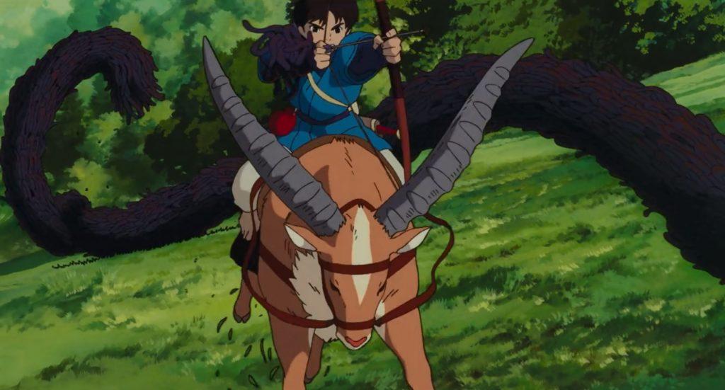 Princesa Mononoke - Studio Ghibli
