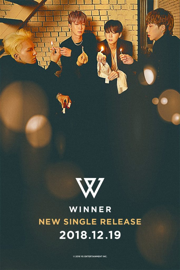 WINNER revelam Data de Comeback com Single