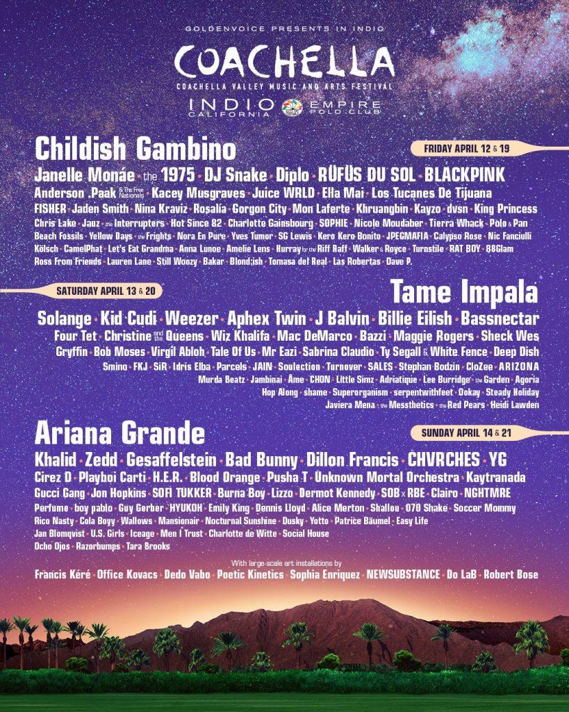 BLACKPINK e HYUKOH confirmados para atuarem no Festival de Música Coachella dos EUA