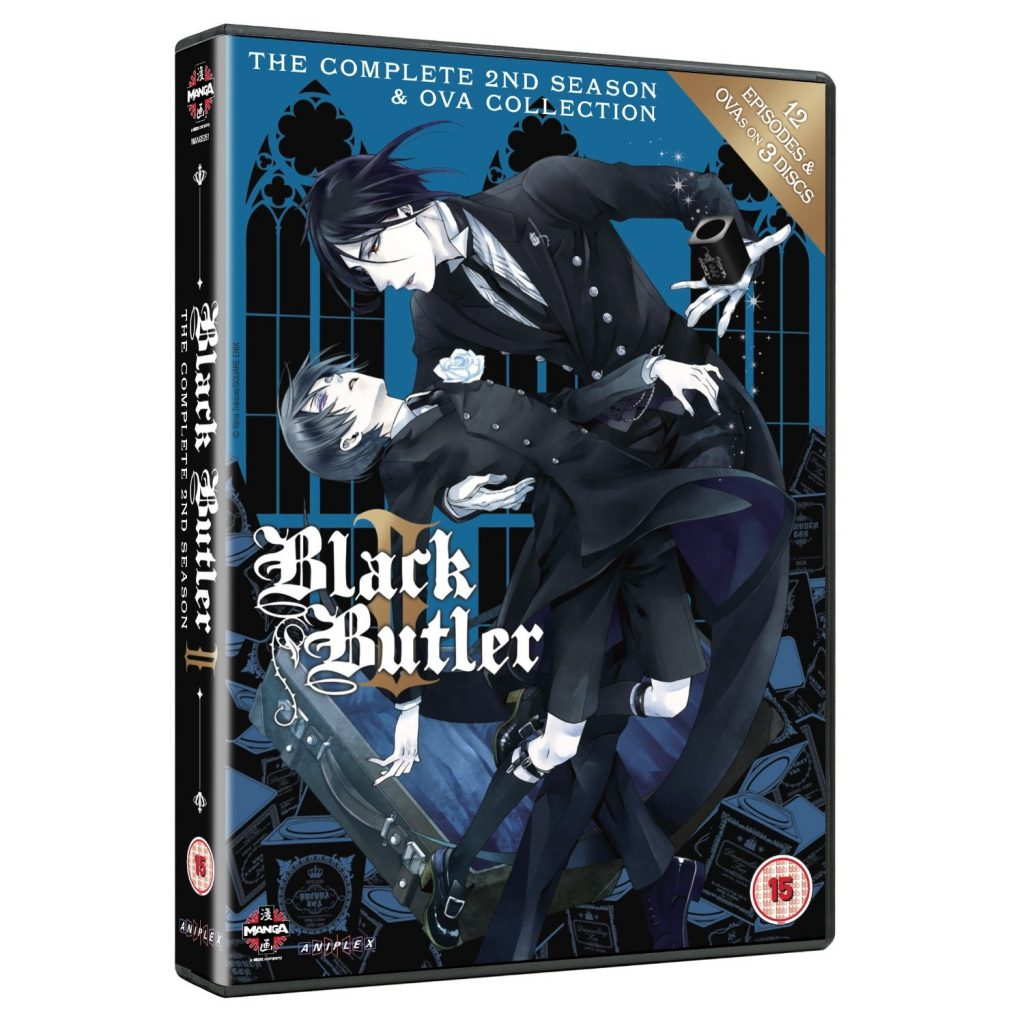 DVDs Blu-rays Anime Julho 2012 - Black Butler The Complete Second Season & OVA Collection