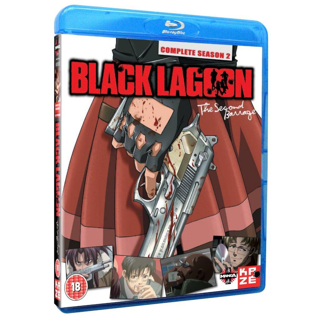 DVDs Blu-rays Anime Julho 2012 - Black Lagoon Complete Season 2 Blu-ray