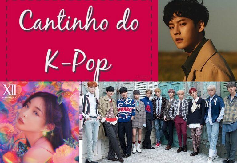 Cantinho do Kpop - Chungha, BTOB e Wanna One