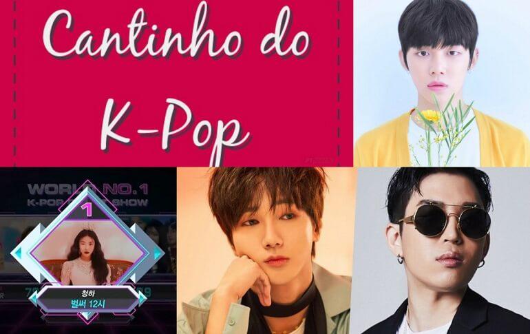Cantinho do Kpop - TXT, Chungha e Yesung dos Super Junior