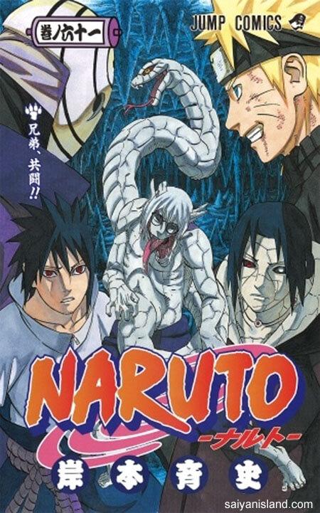Capa Manga Naruto Volume 61 revelada!