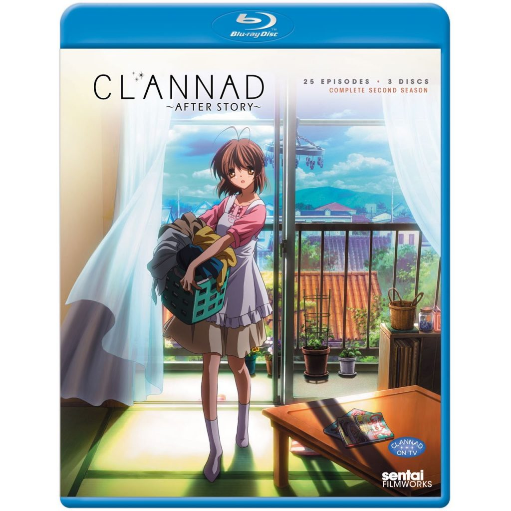 DVDs Blu-rays Anime Julho 2012 - Clannad After Story Complete Collection
