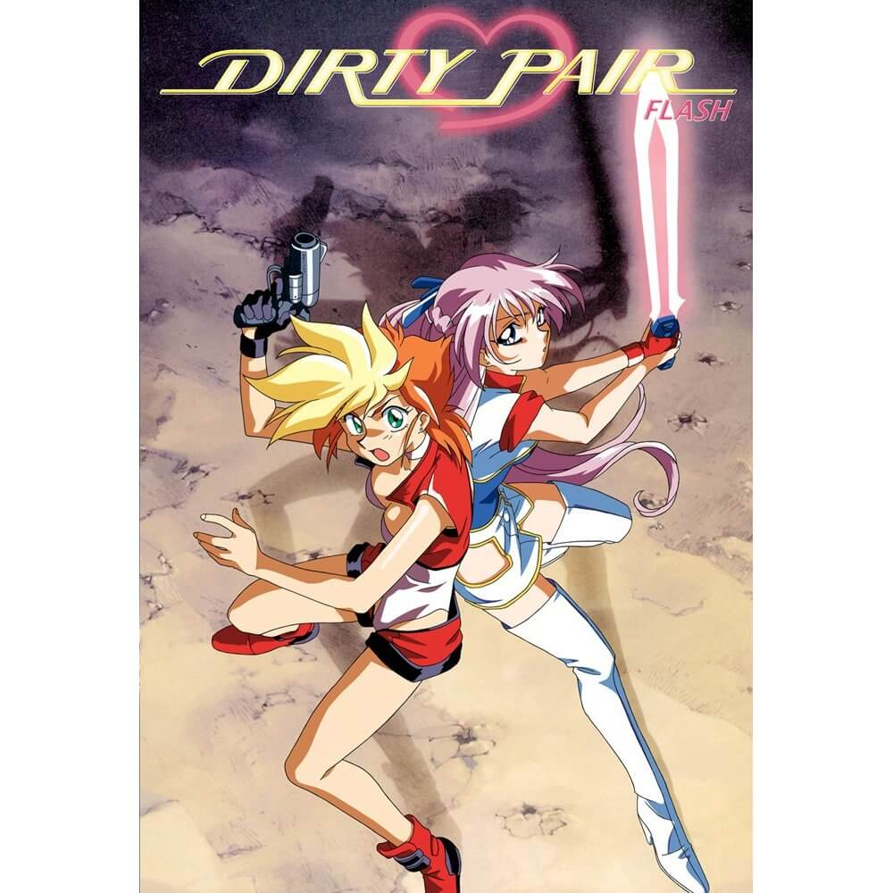 DVDs Blu-rays Anime Julho 2012 - Dirty Pair Flash Collection
