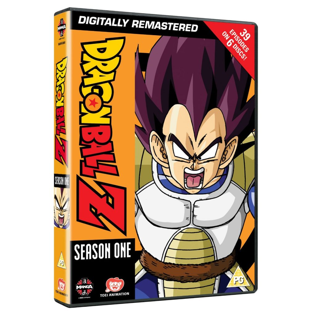 DVDs Blu-rays Anime Julho 2012 - Dragon Ball Z Season One Digitally Remastered