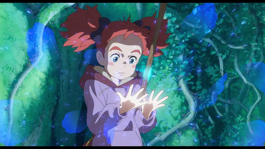 IndieJúnior Allianz 2019 Estreia Mary e a Flor de Feiticeira - Filme anime