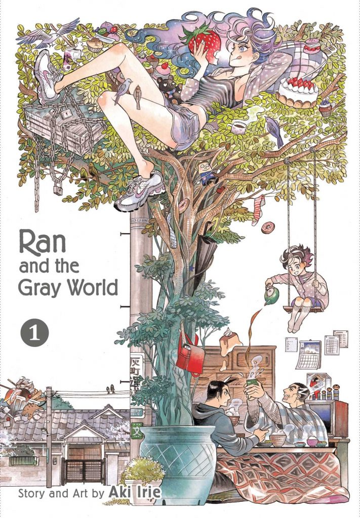 Ran and the Gray World - Análise Manga - Manga vol 1