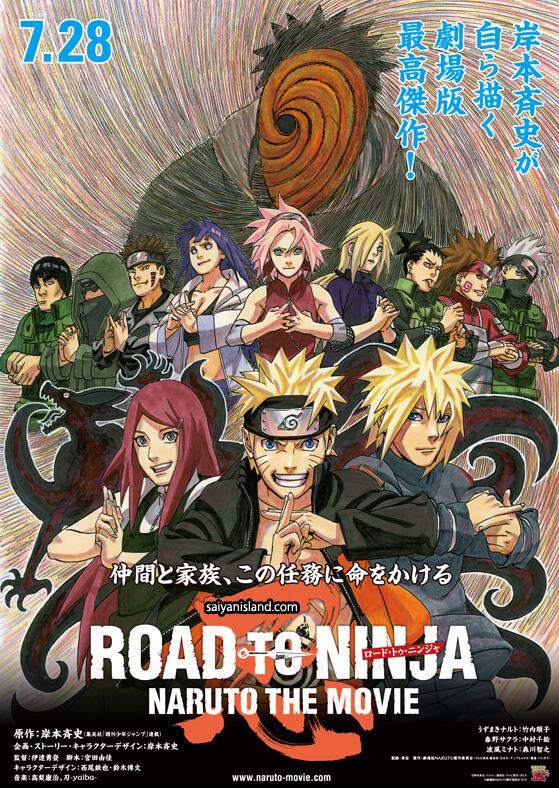 Road to Ninja: Naruto the Movie - Poster Filme