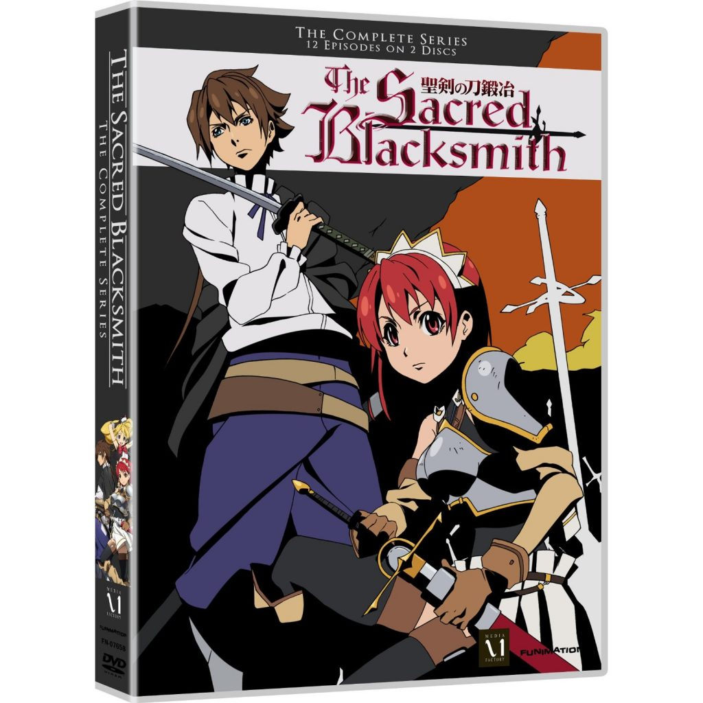 DVDs Blu-rays Anime Julho 2012 - The Sacred Blacksmith: The Complete Series