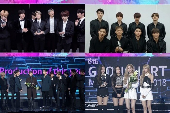 Vencedores do 8º Gaon Chart Music Awards