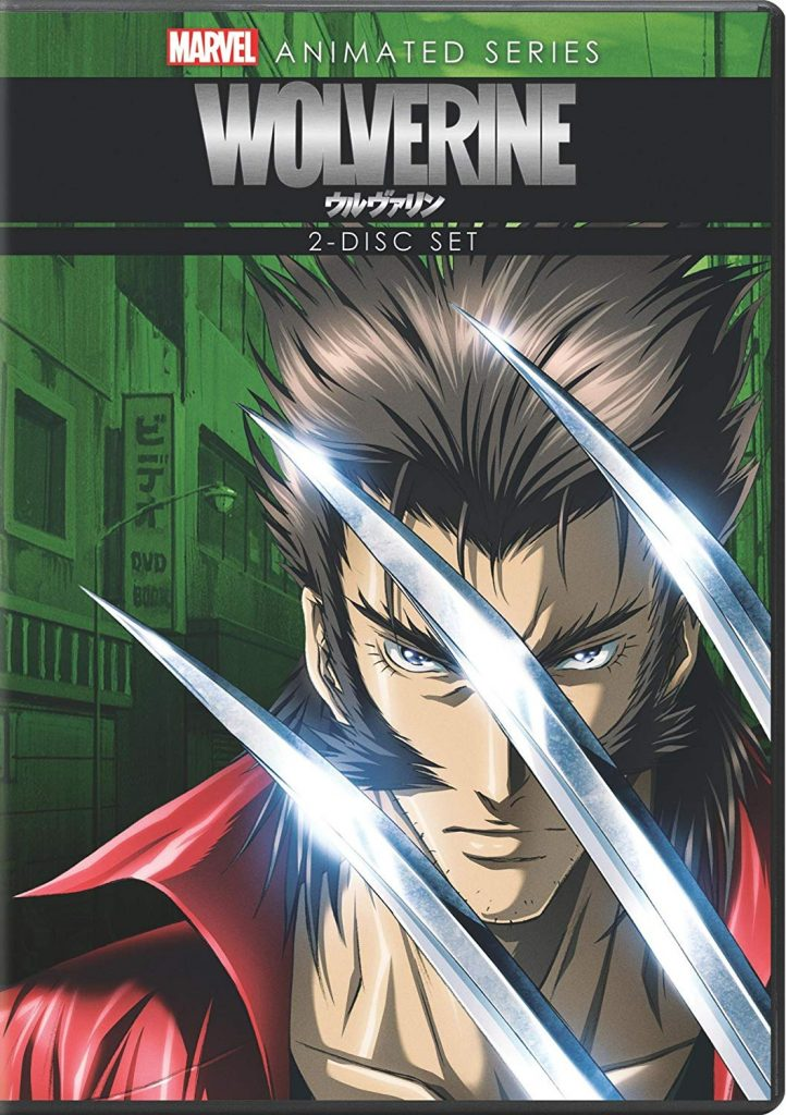 DVDs Blu-rays Anime Julho 2012 - Wolverine Marvel Animated Series