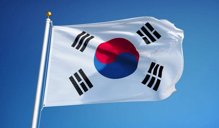 bandeira da coreia do sul Abertura de Cursos de Coreano na UNL - 2º Semestre 2019/2020