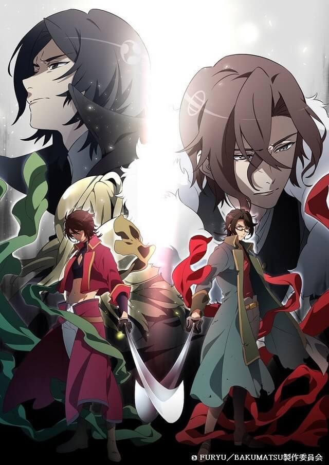 Bakumatsu – Anime revela Estreia da Segunda Temporada