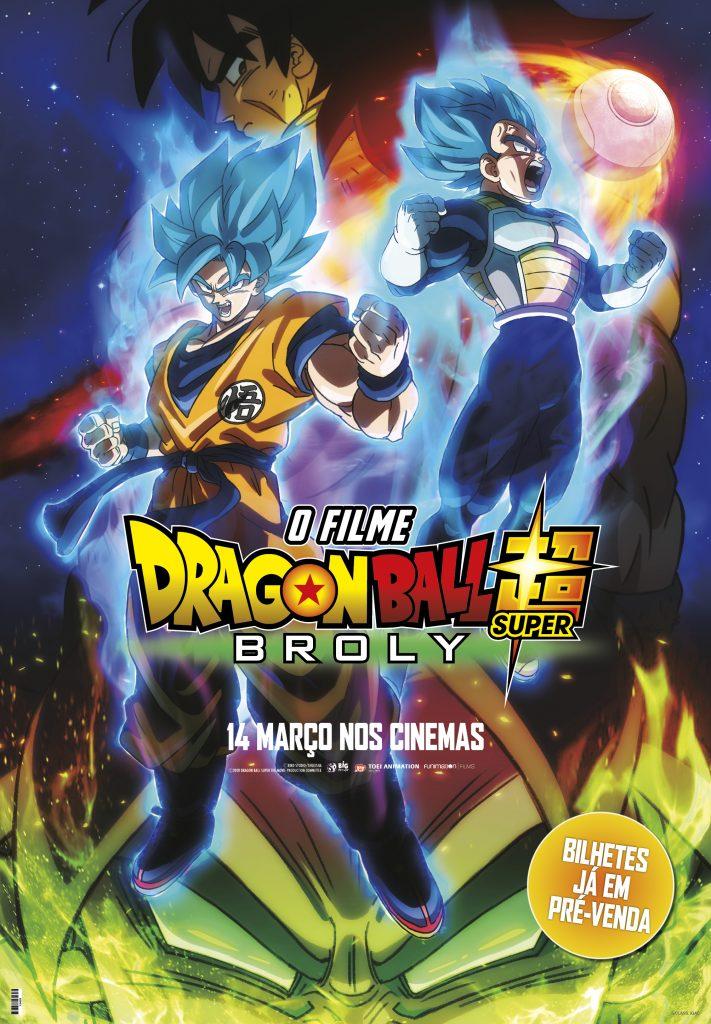 Dragon Ball Super: Broly em Exibição na TVCINE4