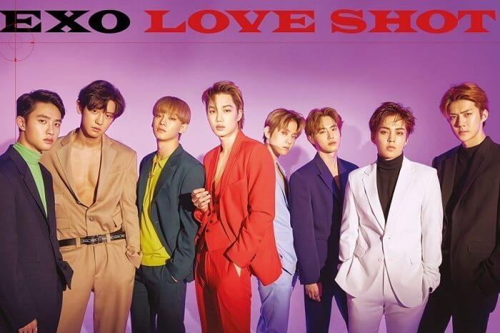 EXO love shot imagem soompi