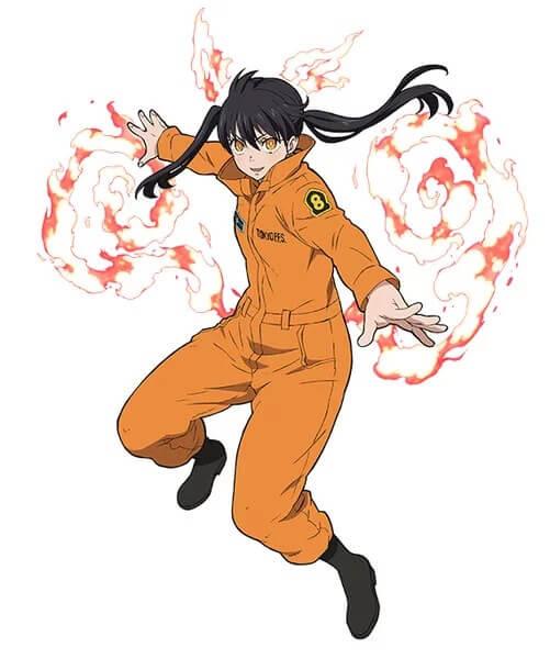 Fire Force - Anime revela Voz e Design de Kotatsu Tamaki
