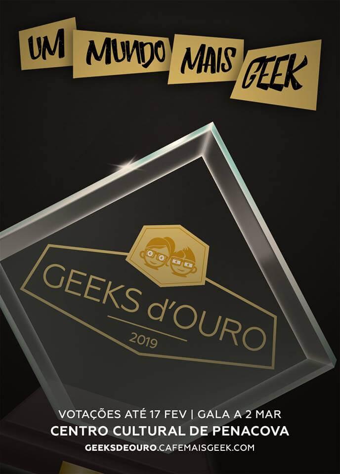 Geeks D'Ouro - Os Prémios Que Celebram a Cultura Geek Portuguesa