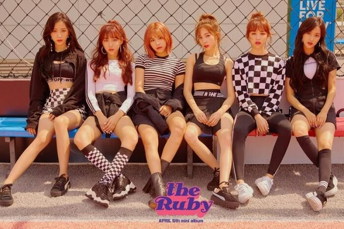 Grupo Femininos Subvalorizados em Kpop april the ruby