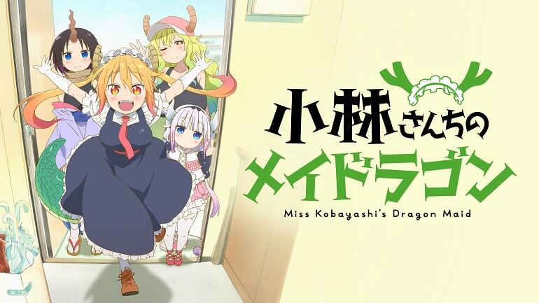 Kobayashi-san Chi no Maid Dragon - Anime terá 2ª Temporada