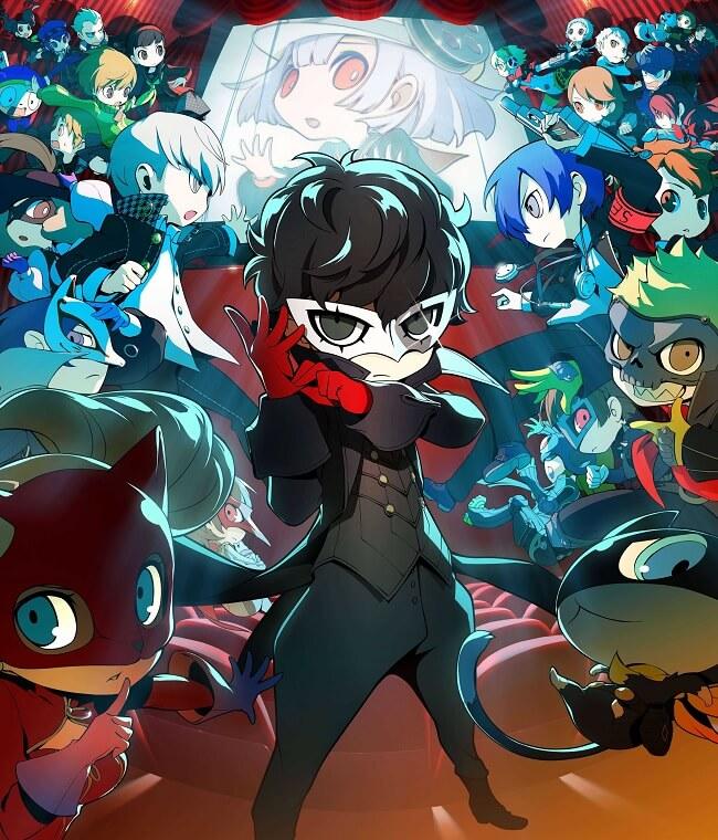 Persona Q2 - Jogo da 3DS recebe Lançamento Ocidental | Persona Q2 New Cinema Labyrinth revela Novo Trailer