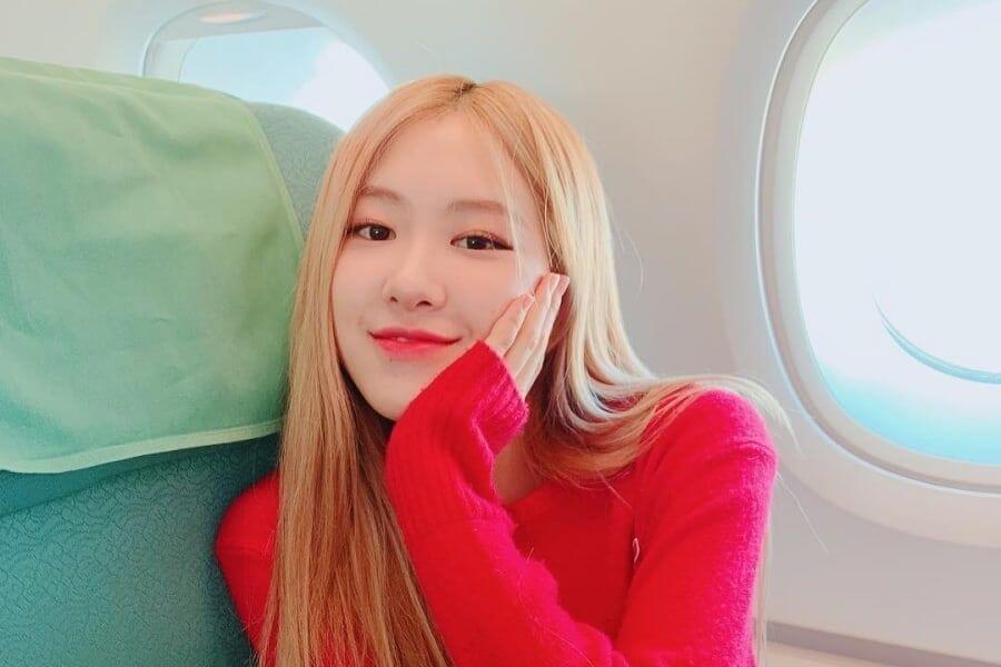 Hyeri das Girl's Day agradece à Rosé das BLACKPINK pelo Apoio